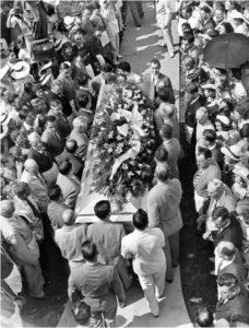 Cercueil de Robert Waldow