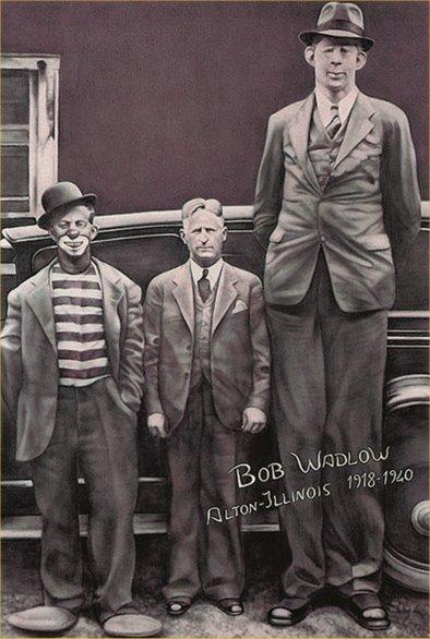 Robert Waldow, le plus grand des géants