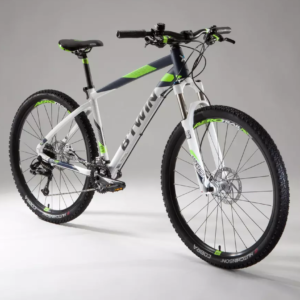 VTT grande taille suspension avant