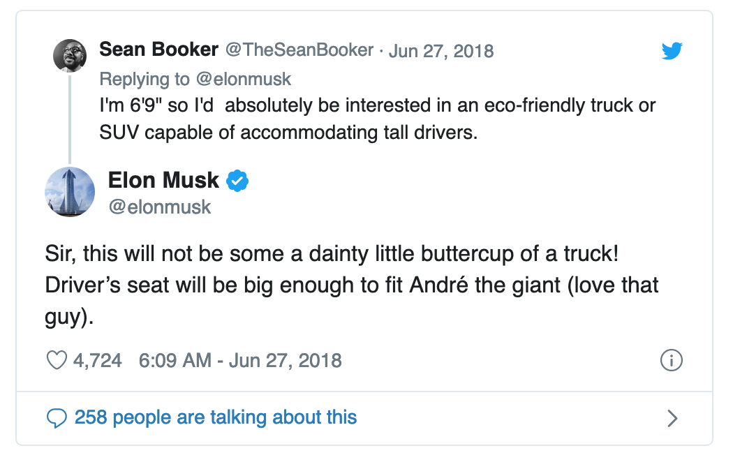 Elon Musk Andre the Giant