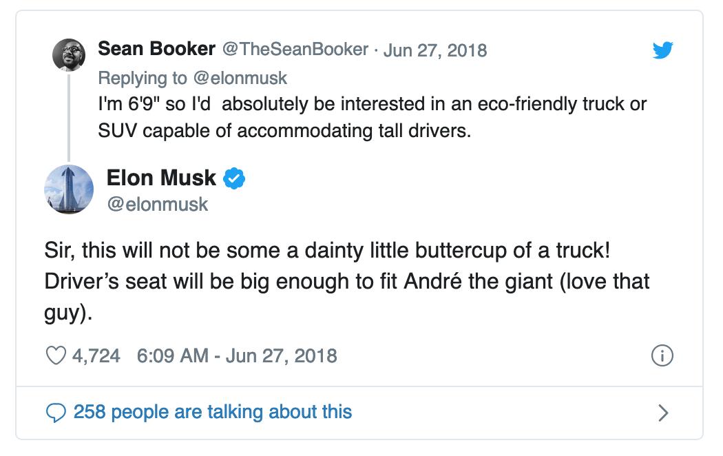 Elon Musk Andre the Giant