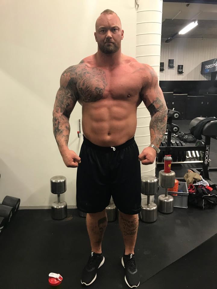 Combien mesure Thor Bjornsson wetall