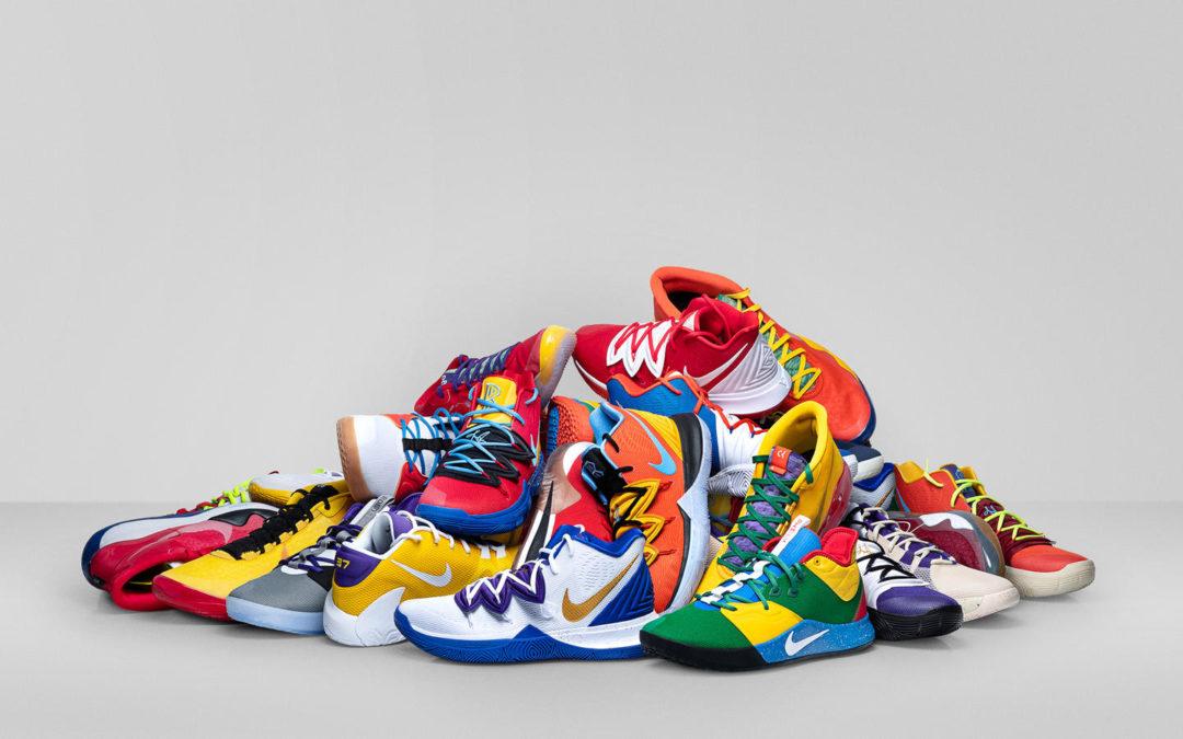 Quelles sont les pointures des joueurs NBA ?