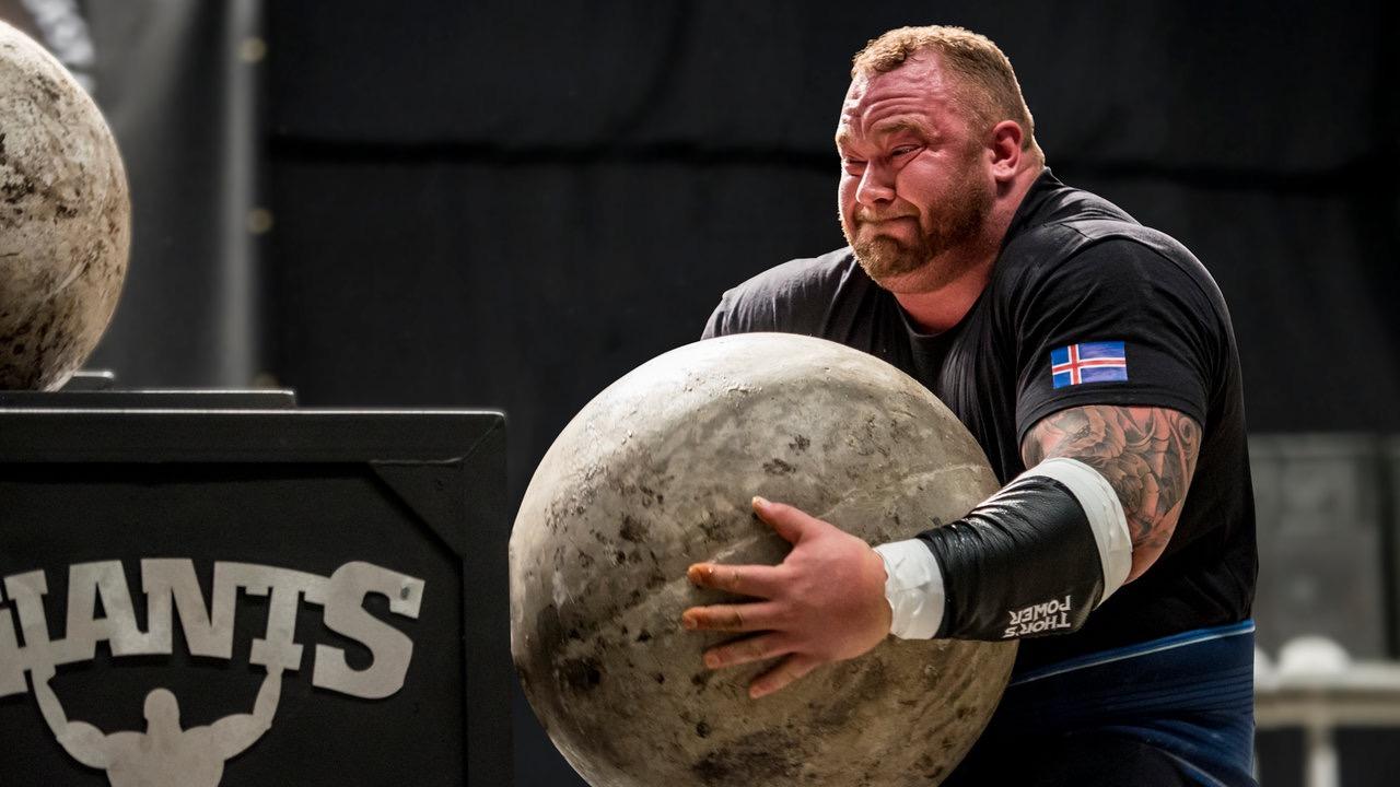 strong man thor bjornsson