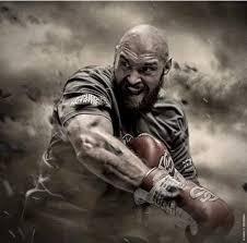 Tyson Fury, le boxeur géant redevenu champion du monde poids lourds.