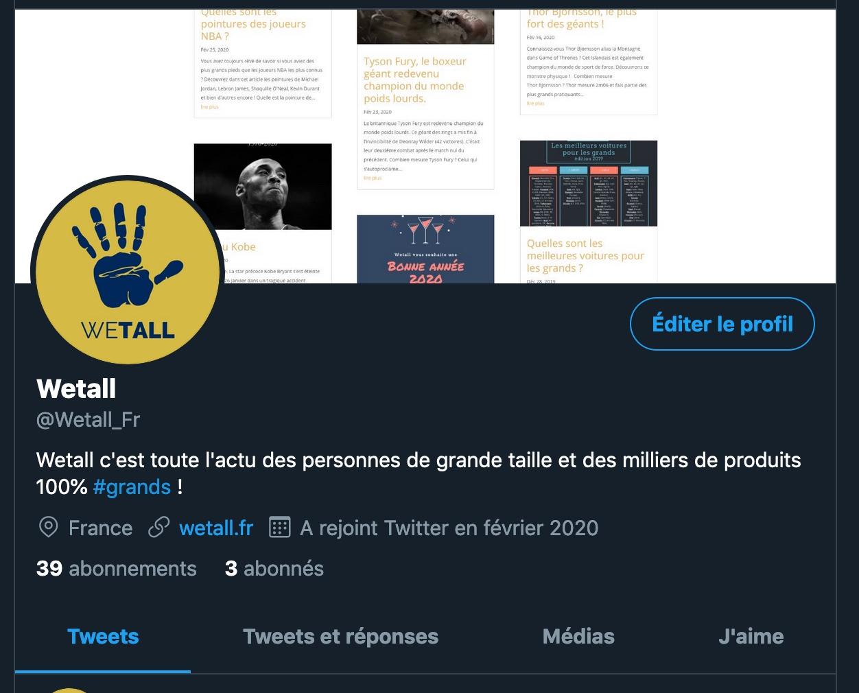 Twitter Wetall