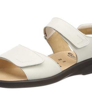Sandale blanche grande taille