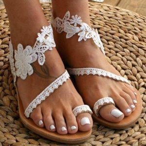 Sandales été grandes tailles-WT