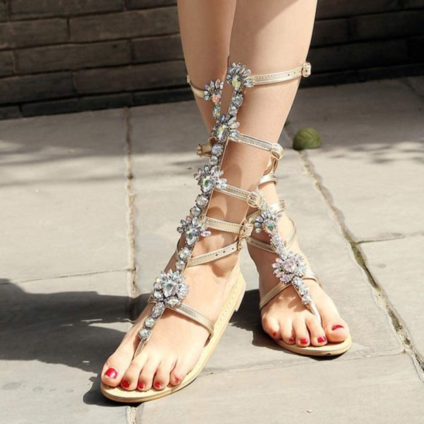 sandales romaines grande taille-WT