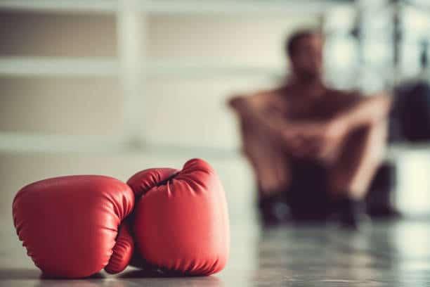 Chaussures de boxe grande pointure