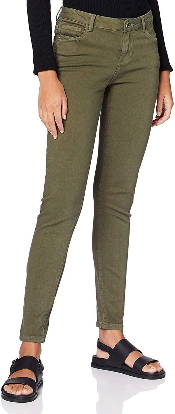 jean vert grande taille