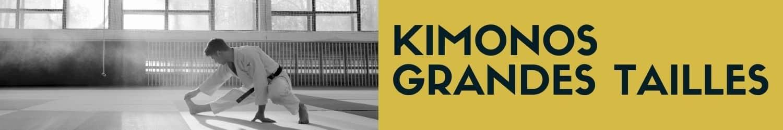kimonos arts martiaux grandes tailles