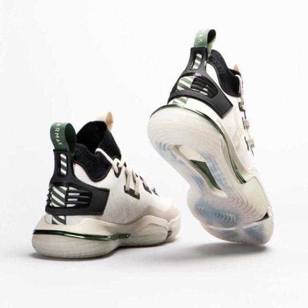 chaussures de basket NBA Milwaukee grande pointure 3