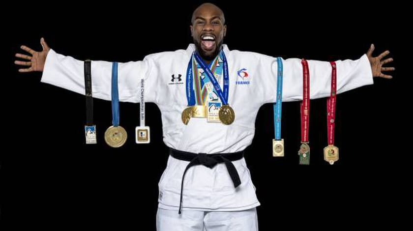 teddy riner champion olympiquer