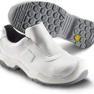 chaussures de securité grandes tailles blanches